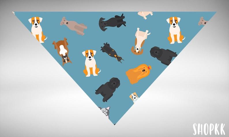 Dog Collar Dog Person Gift Pet Gift Dog Bandana Bandana Personalized Dog Bandana Dog Lover Gift Custom Dog Bandana Dog Gift Dog Tag