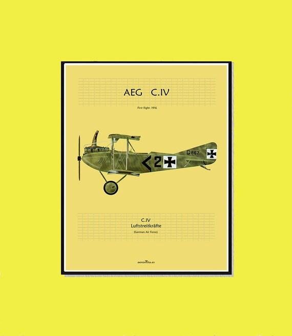 Airplane wall print watercolor aircraft wall art airplanes