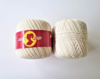 South Maid Crochet Thread Etsy