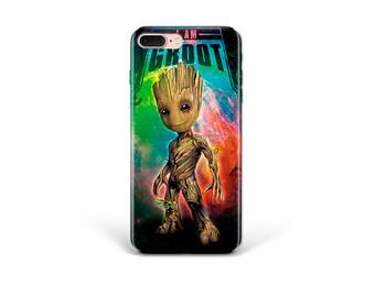 631ba59ccf8c Marvel iPhone Case Groot iPhone XS Max Case Samsung S8 Case 3D Samsung Note  9 Case iPhone X Case Inspired by Marvel Samsung S9 Case iPhone 8
