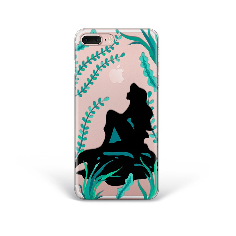 watch 80636 144f3 Little Mermaid iPhone X Case iPhone 8 plus Case Ariel Phone Case Samsung S9  Case Inspired by Disney iPhone 7 Clear Case Samsung S8 Case LG