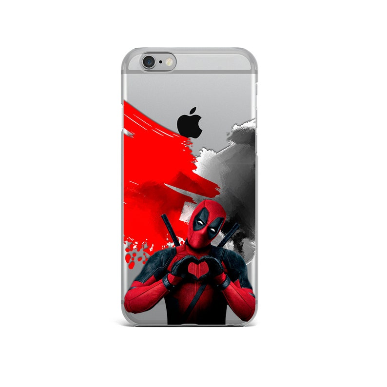 coque iphone x silicone deadpool