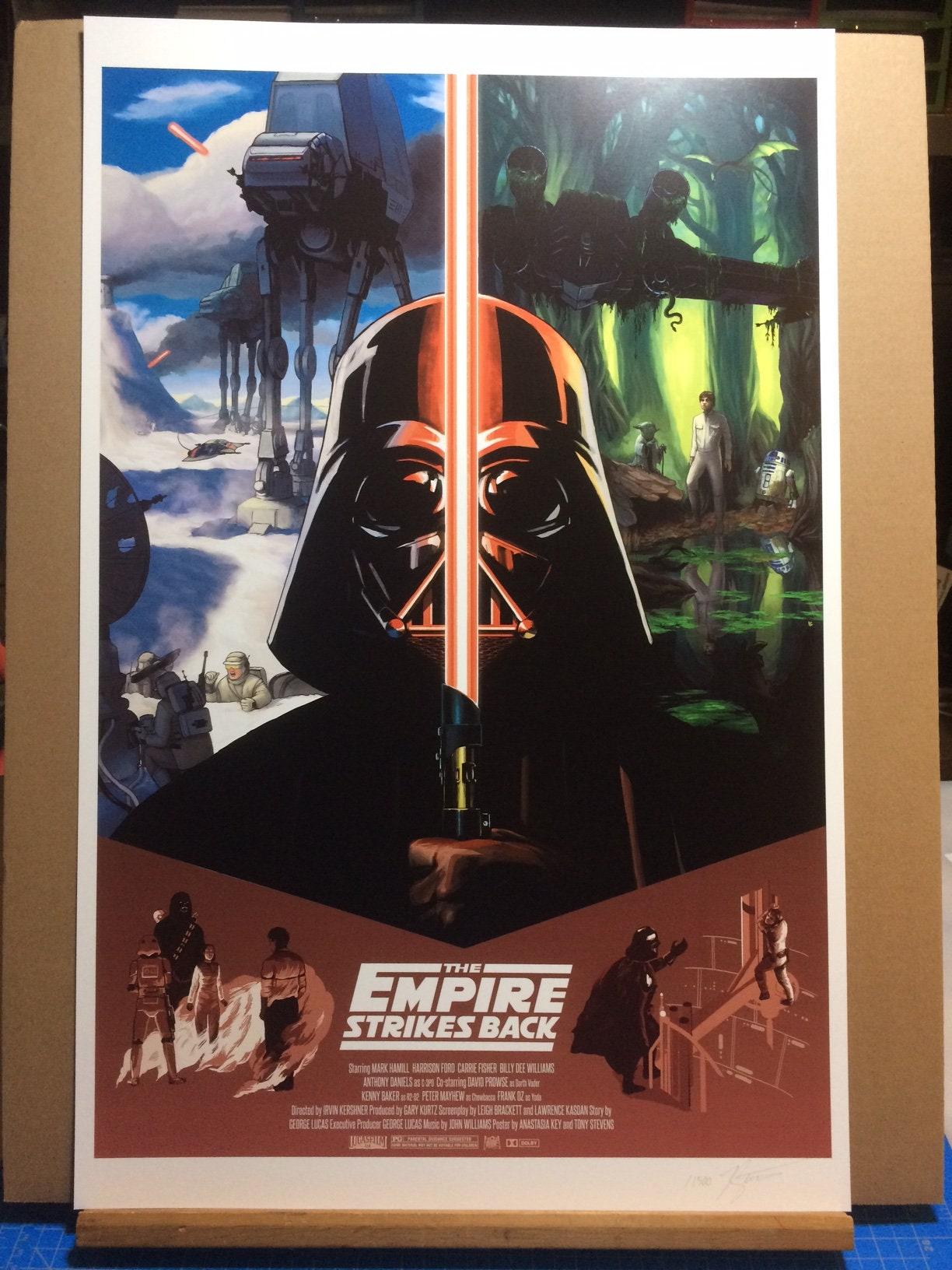Come To The Dark Side Darth Vader Empire Strikes Back Return of the Jedi cuptop STORM TROOPER Desk Decor Vintage Star Wars LUCASFILM Ltd