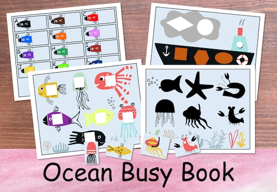 Ocean Busy Book for Toddlers