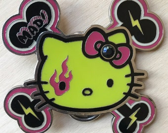 Hello Kitty and the Mad Barbarians Belt Buckle