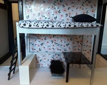 loft bed etsy. Black Bedroom Furniture Sets. Home Design Ideas