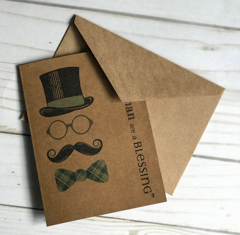 Gifts in men are a blessing-JW greeting cards