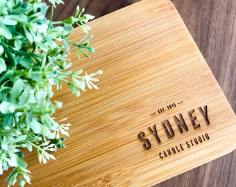 Corporate Gift or Your Own Logo /Brand Mini Serving or Chopping board