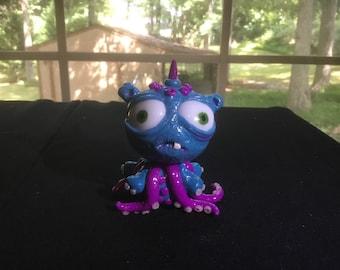 Octopus alien creature