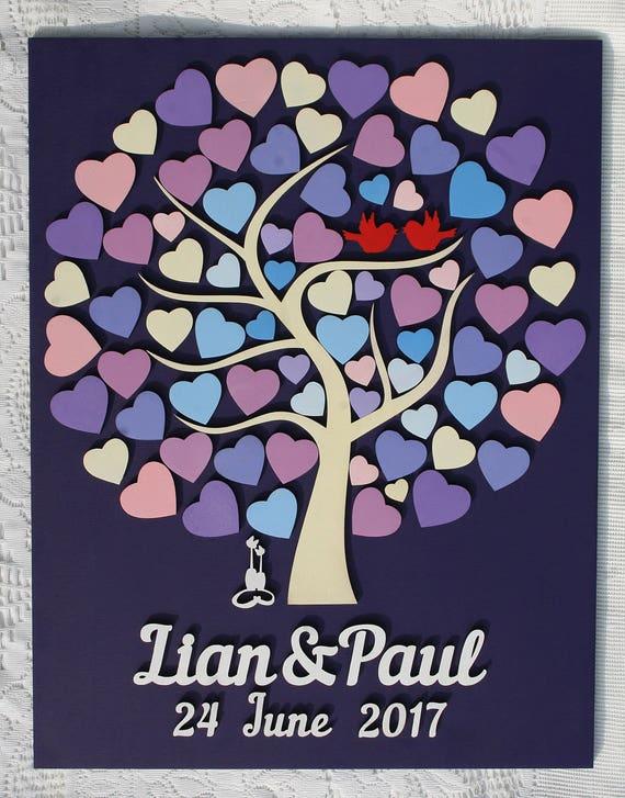 Custom Guest Book Wedding Guest Book Rustic Guestbook Wedding Gift Gift for Couple Wedding Guestbook Wedding Album Wood Guest Book