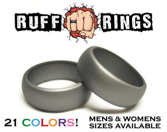 Ruff Rings Silicone Rings Silicone Wedding Ring Band Gift Etsy