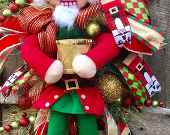 Toy Soldier Wreath Etsy