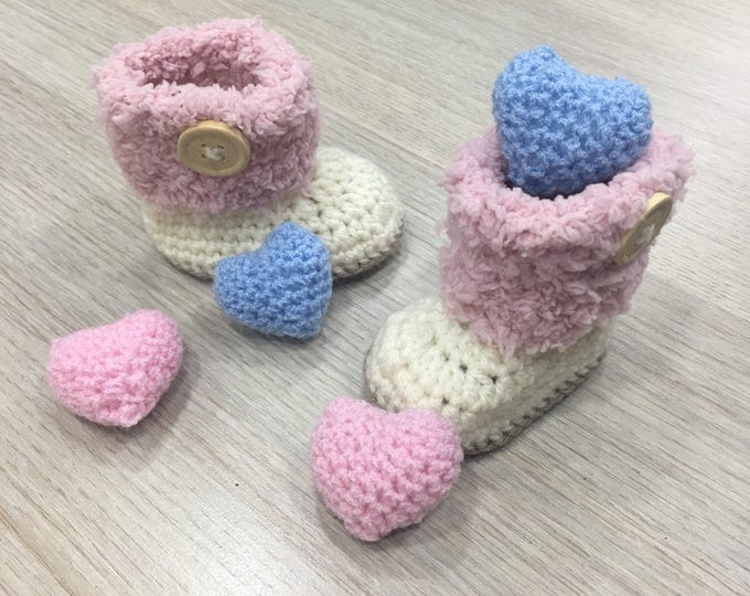Crochet Baby Shoes Ninas Crafts