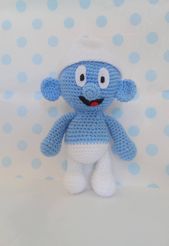 Smurf Amigurumi, Crochet Smurf K085