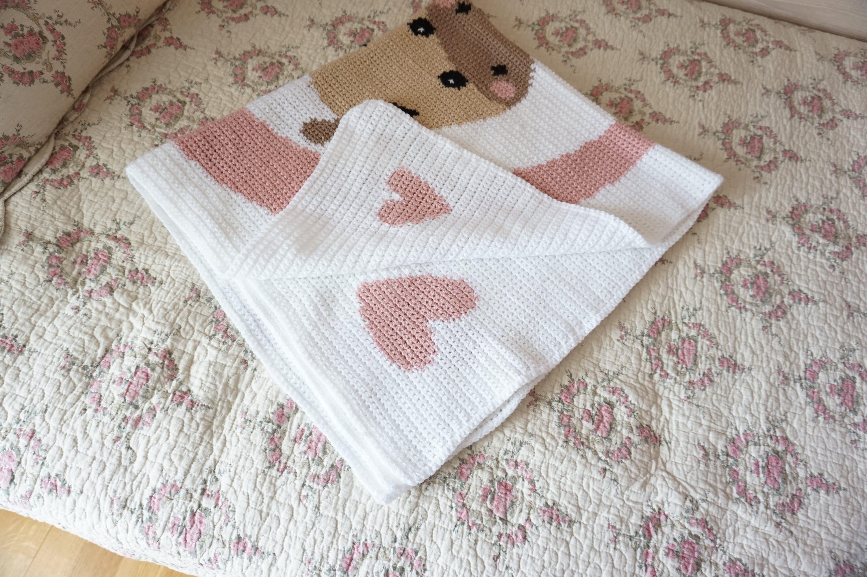 & Giraffe Perfect Baby Gift Blanket K121