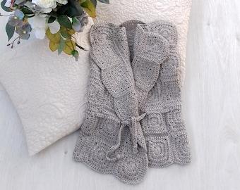 2409b3d99 Baby girl flower sweater toddler alpaca sweater kids brown