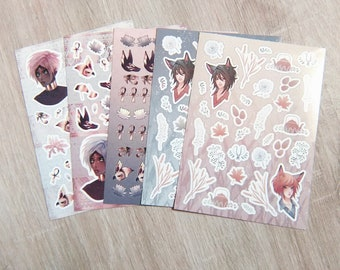 Yaoi Stickers Etsy