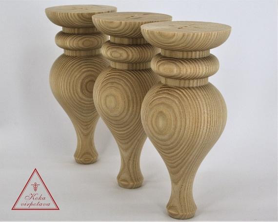 Handgemachte Holzbein Holz Gedrechselt Fusse Couchtisch Bein Etsy