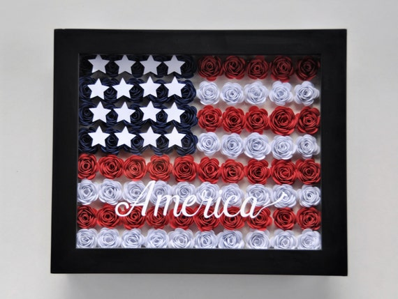 Warm breezes american flag red white blue stars 4th july roses etsy image 0 mightylinksfo