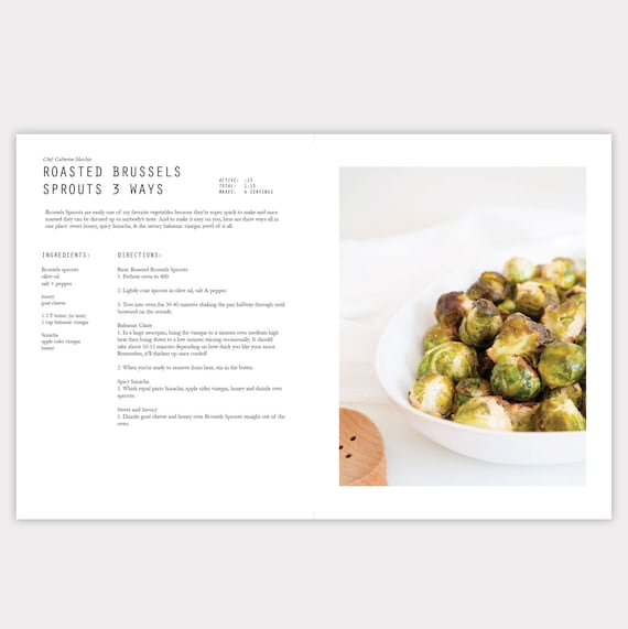 InDesign CC Cookbook Template - Adobe indesign cookbook template