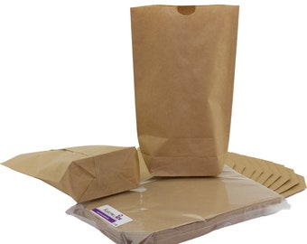 25 kraft paper bags brown paper bags different sizes