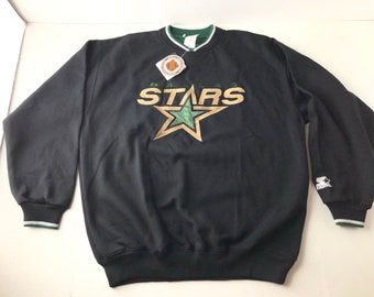 bb2025c93 NWT Vintage 90s dallas stars crewneck sweatshirt mens XL nhl hockey starter  brand