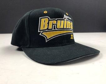 a1bd510e2f3 NOS Vintage 90s boston bruins snapback cap hat NHL Hockey starter brand the  right hat