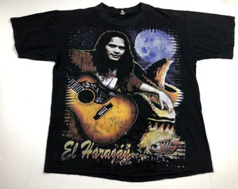 b0e4dd51083e Vintage 90s El Haragan y cia t-shirt mens XL bootleg rap tee style spanish  hard rock tour