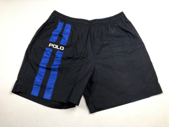 dcf75fcbfc Vintage 90s Ralph Lauren polo sport swimming trunks mens L | Etsy