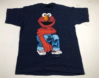 Vintage 90s Elmo t-shirt mens L fits M Calvin Klein spoof parody Sesame Street