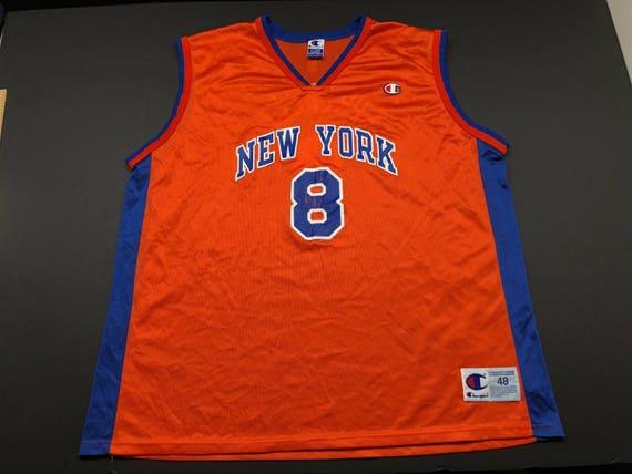 6f247d1ba2b Vintage 90s champion Latrell Sprewell New York knicks