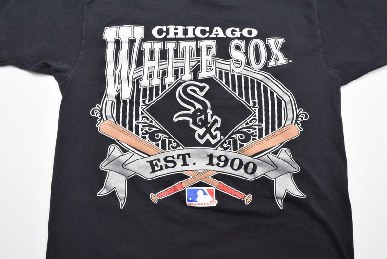 the best attitude b1c12 8309f Vintage 90s Chicago White Sox MLB baseball t-shirt Nutmeg Mills mens XL
