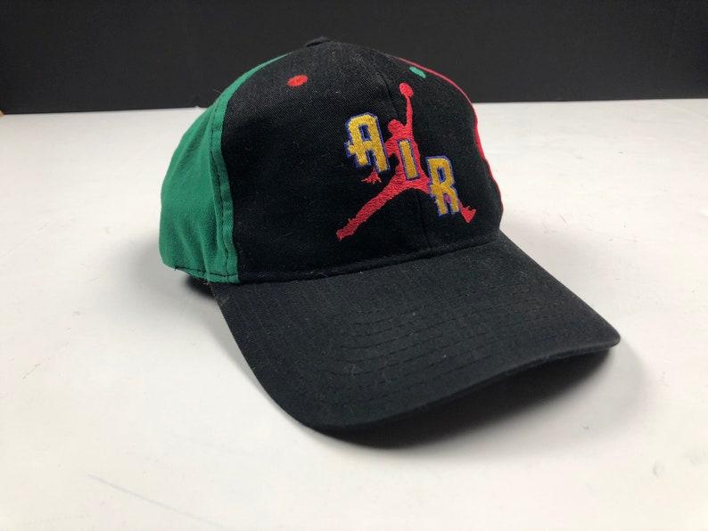 ddcb138914ef9 Vintage 90s authentic air jordan by nike snapback cap hat