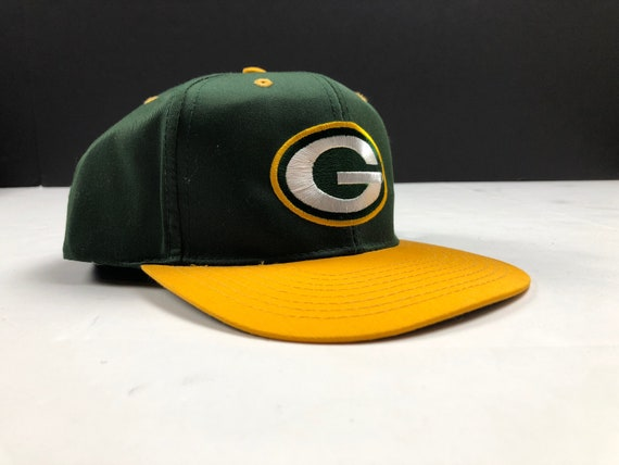 abf7213d NOS Vintage 90s Green Bay packers logo snspback cap hat nfl football