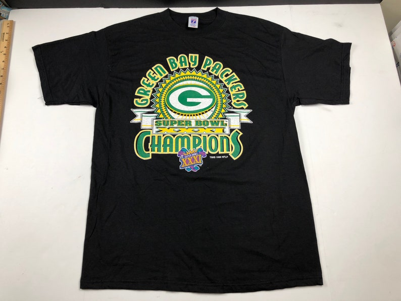 Vintage 1997 Green Bay Packers super bowl xxxi champions  01ef5a79a