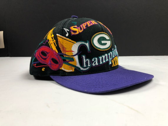 Vintage 1997 super bowl xxxi champions Green Bay packers logo  3dd3dd64c