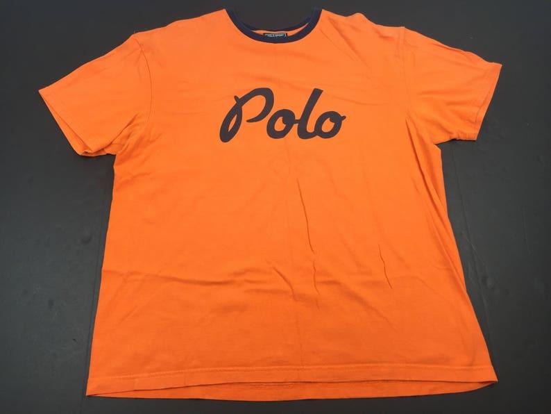 62da3cce9 Vintage 90s Ralph Lauren Polo cursive script spell out logo