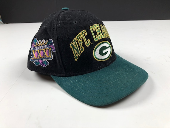 Vintage 1997 super bowl xxxi Green Bay packers logo snapback  944cae257