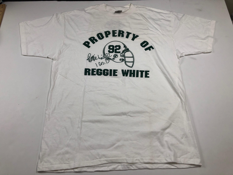 white green bay packers shirt
