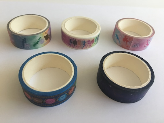 Sailor Moon × Chocola BB × 7eleven masking tape All 5 types Limited Washi tape