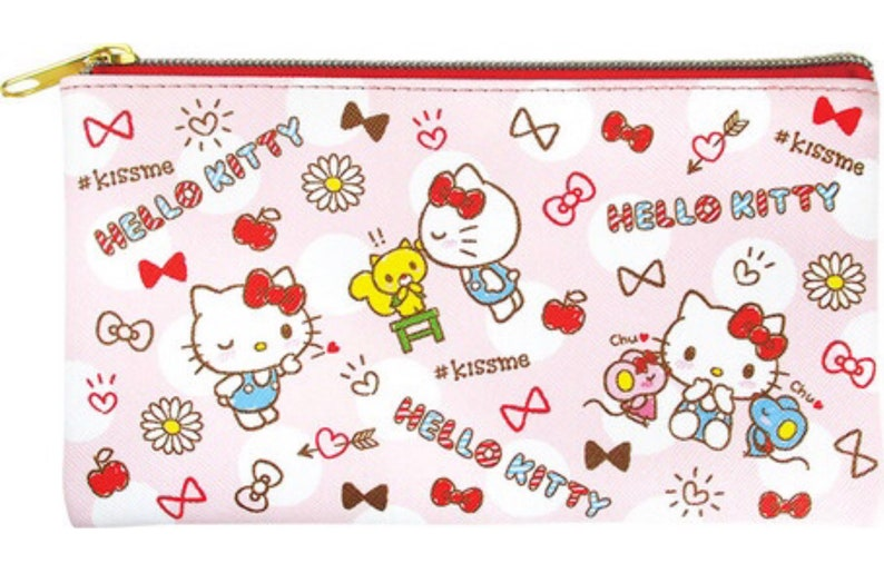 05792ce6c Sanrio Japan Hello Kitty Pencil Pouch Kitty-chan Pen Case | Etsy