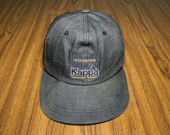 75ed24dfcc88b Vintage Kappa cap spell out logo snapback cap Gray