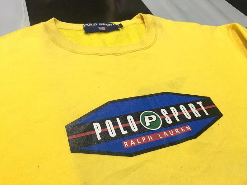 1e779dcdd Vintage Polo sport sweatshirt Pepsi logo spell out polo sport