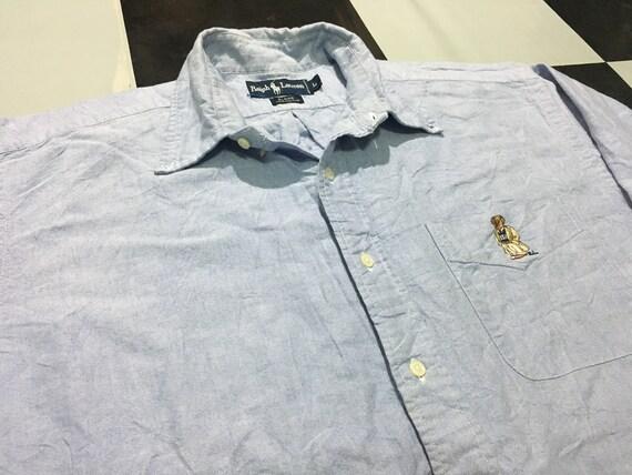Vintage Polo bear shirt Size L Good condition Polo