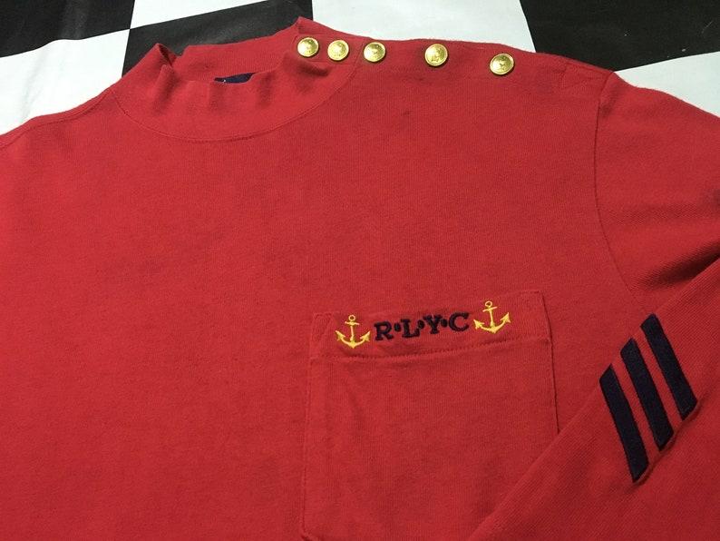 9ad6834200972 Vintage Polo ralph lauren long sleeve shirt RLYC Size M Ralph