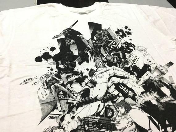 Vintage Neon Genesis Evangelion Shirt Size M Excel