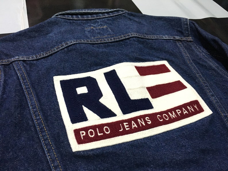 d178bfed6f482 Vintage Polo jeans company by ralph lauren denim jacket