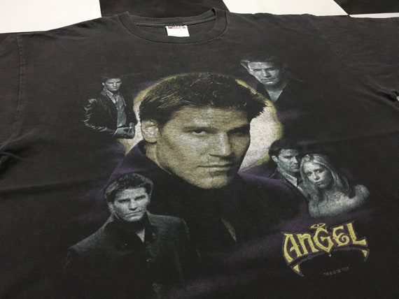Vintage Angel shirt American TV series Size XL