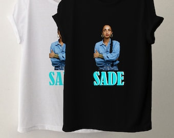 ef2567c1 Sade, Sade Music Inspired, Sade Vintage 90s Inspired Tee, T Shirt, Tops and  Tee, Unisex Adult Clothing, Hypebeast, Street Wear