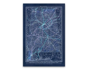 Railroad map | Etsy on penn central railroad map, kansas city train, rock island railroad map, burlington route railroad map, baltimore and ohio railroad map, burlington northern railroad map, union pacific railroad map, central pacific railroad map, i-70 kansas map, kansas weather map, kansas city streetcar, lehigh valley railroad map, central of georgia railroad map, mississippi county map, east broad top railroad map, kansas city terminal railroad map, rio grande railroad map, new york central railroad map, sydney train map,